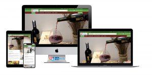 thiet ke website Wine & Food halo-media