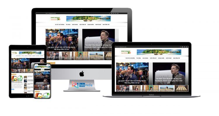 halo media thiet ke website tin tuc