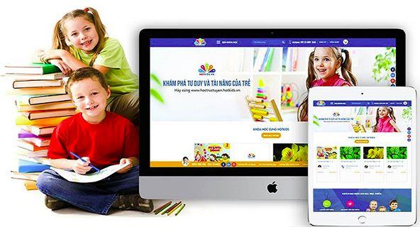 website giáo dục Halo Media