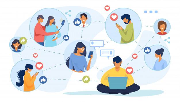 kết hợp trên mạng xã hội halo media