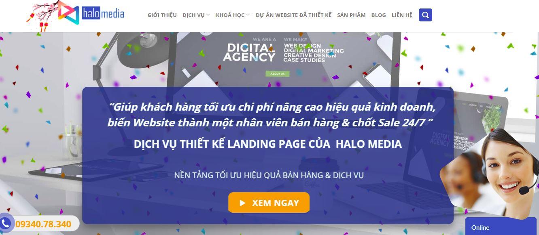 hướng dẫn bán hàng online trên website halo media